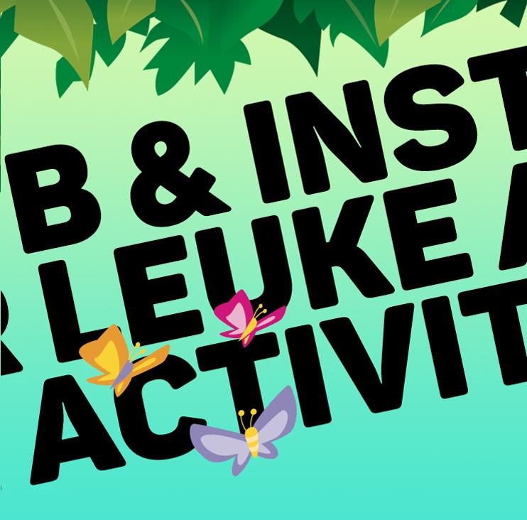 KIdsZoo - Volg onze socialmediakanalen voor updates en leuke activiteiten